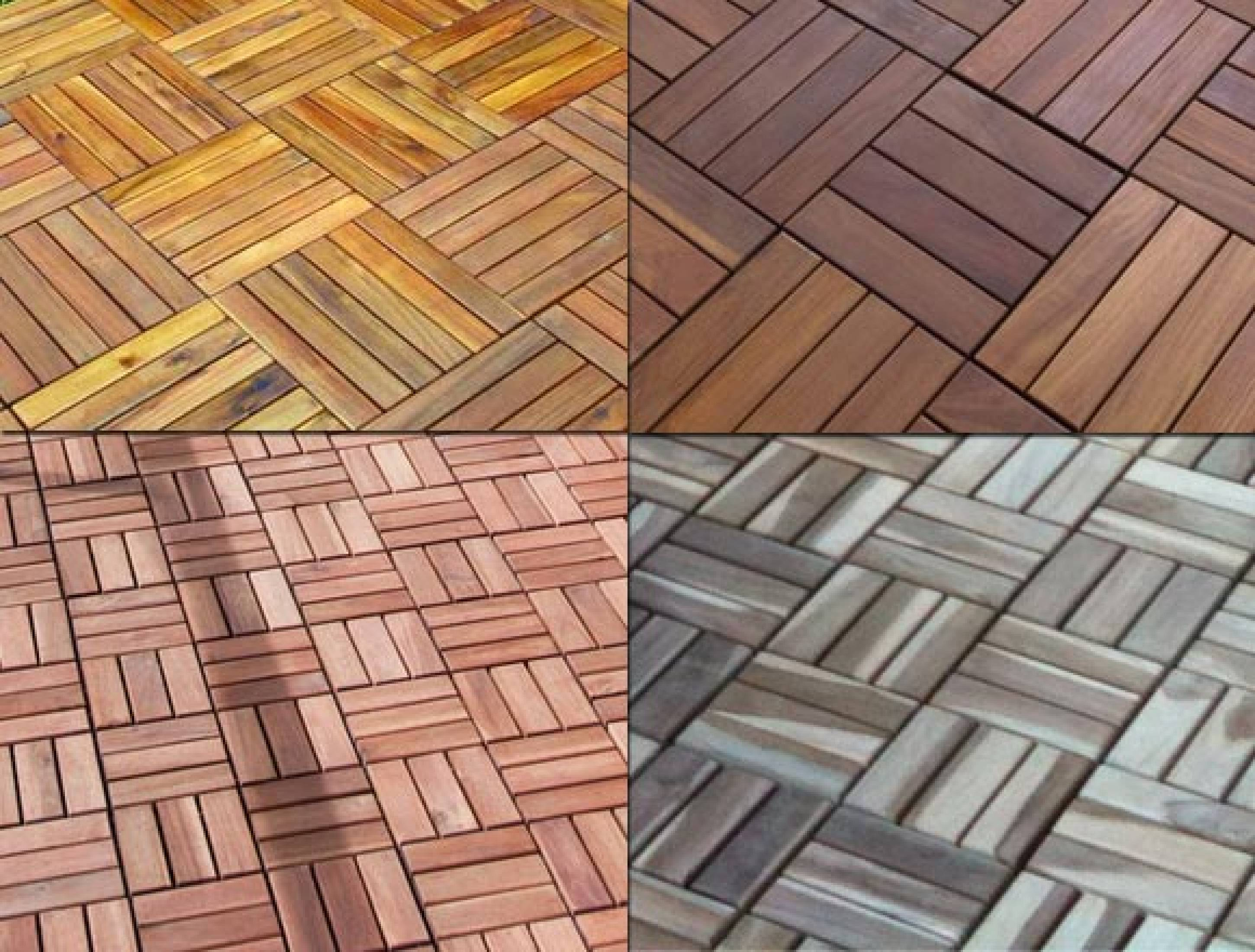 7 Types Of Decking Tiles What Decking Tiles To Choose