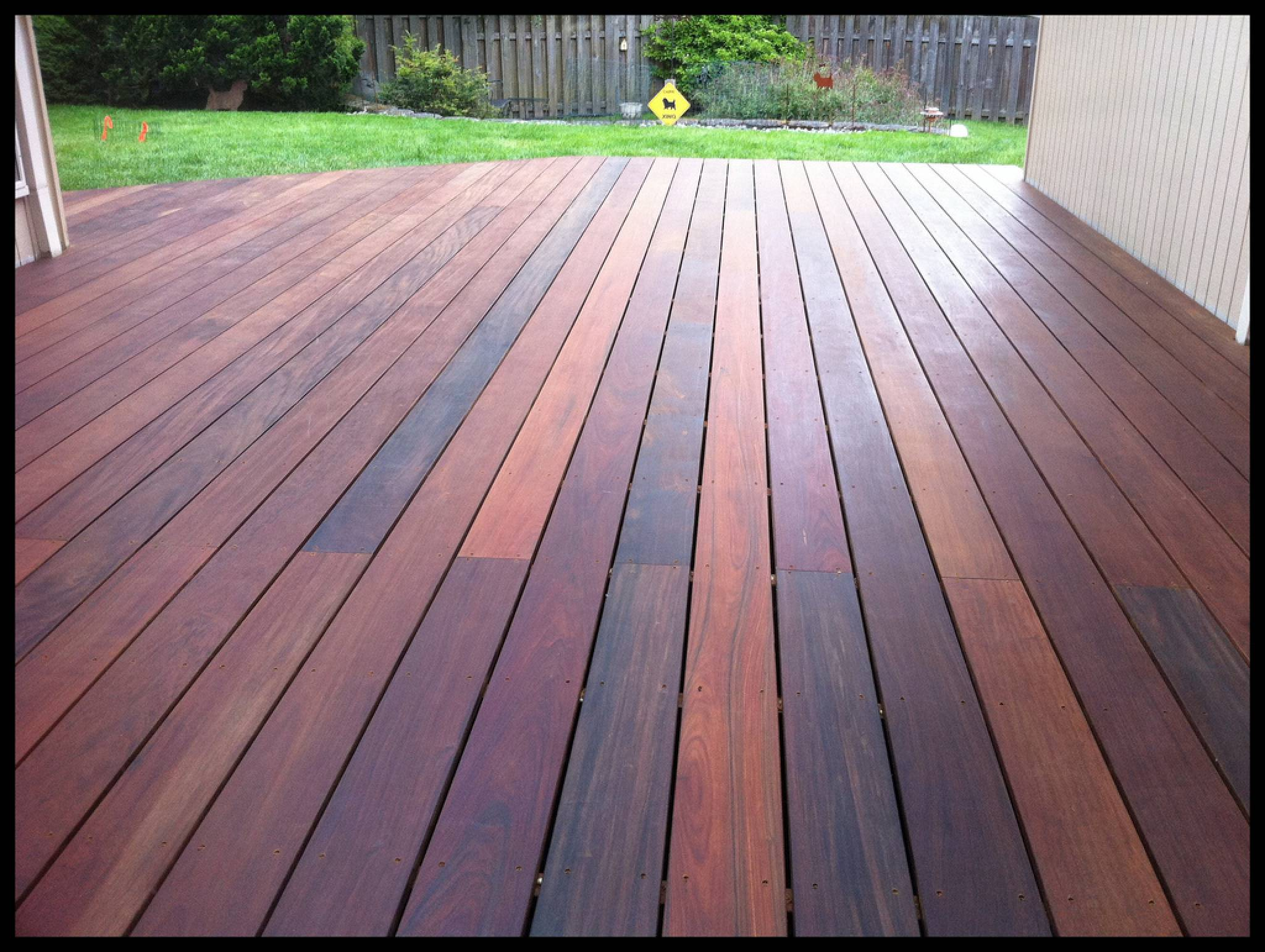 Image gallery ipe decking for Which timber for decking