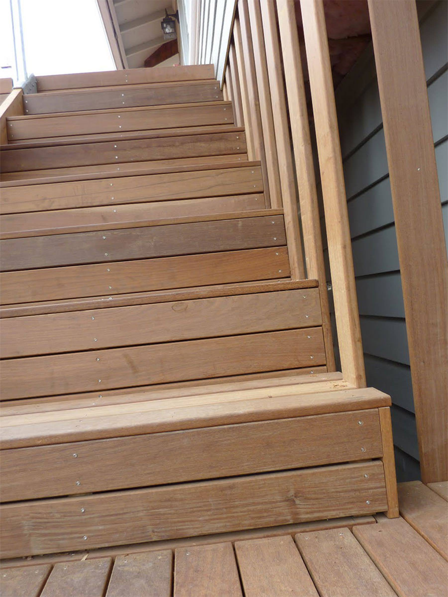 Ipe wood tiles - Suitable materials for decking ...