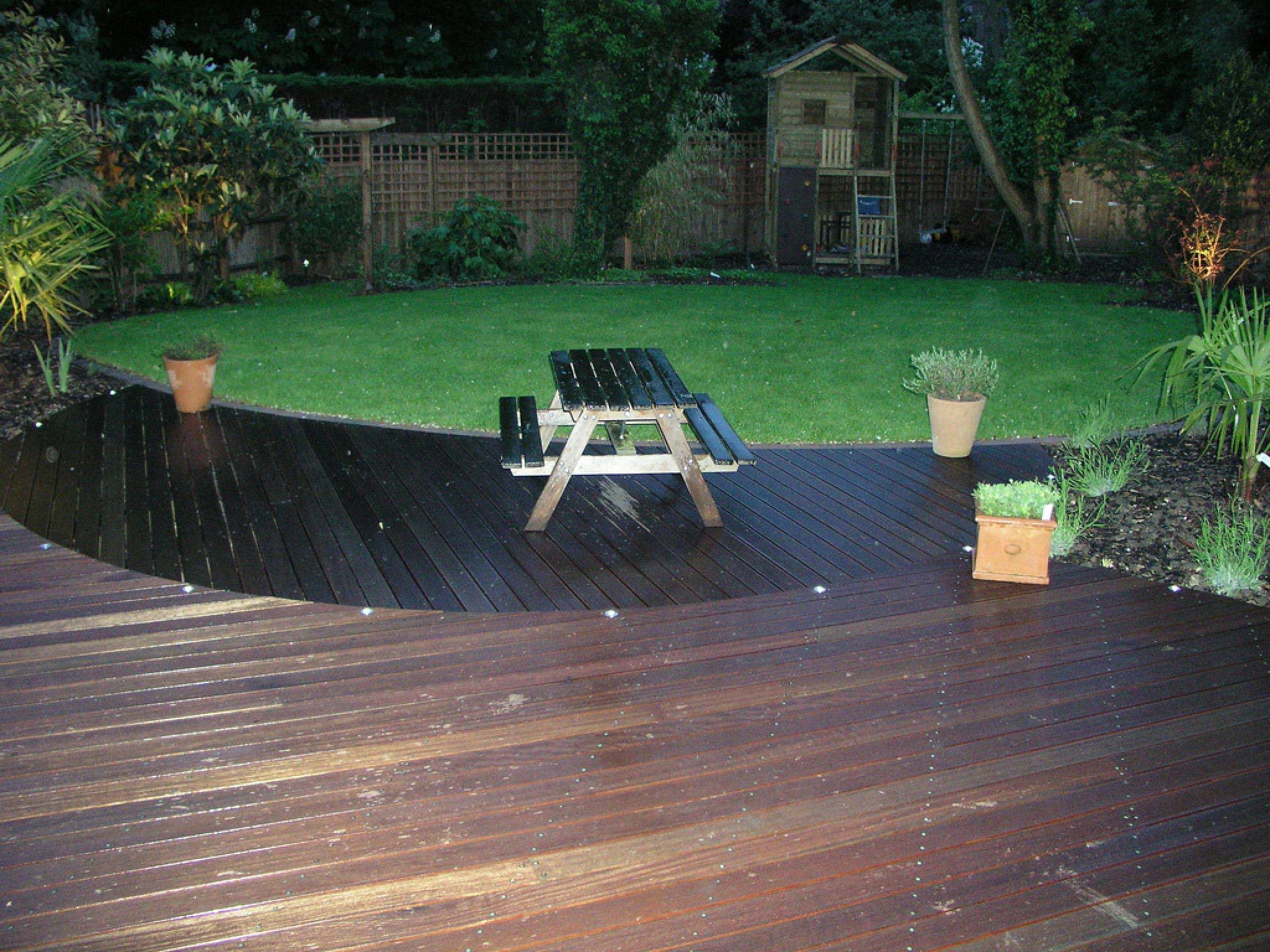 garden decking prices