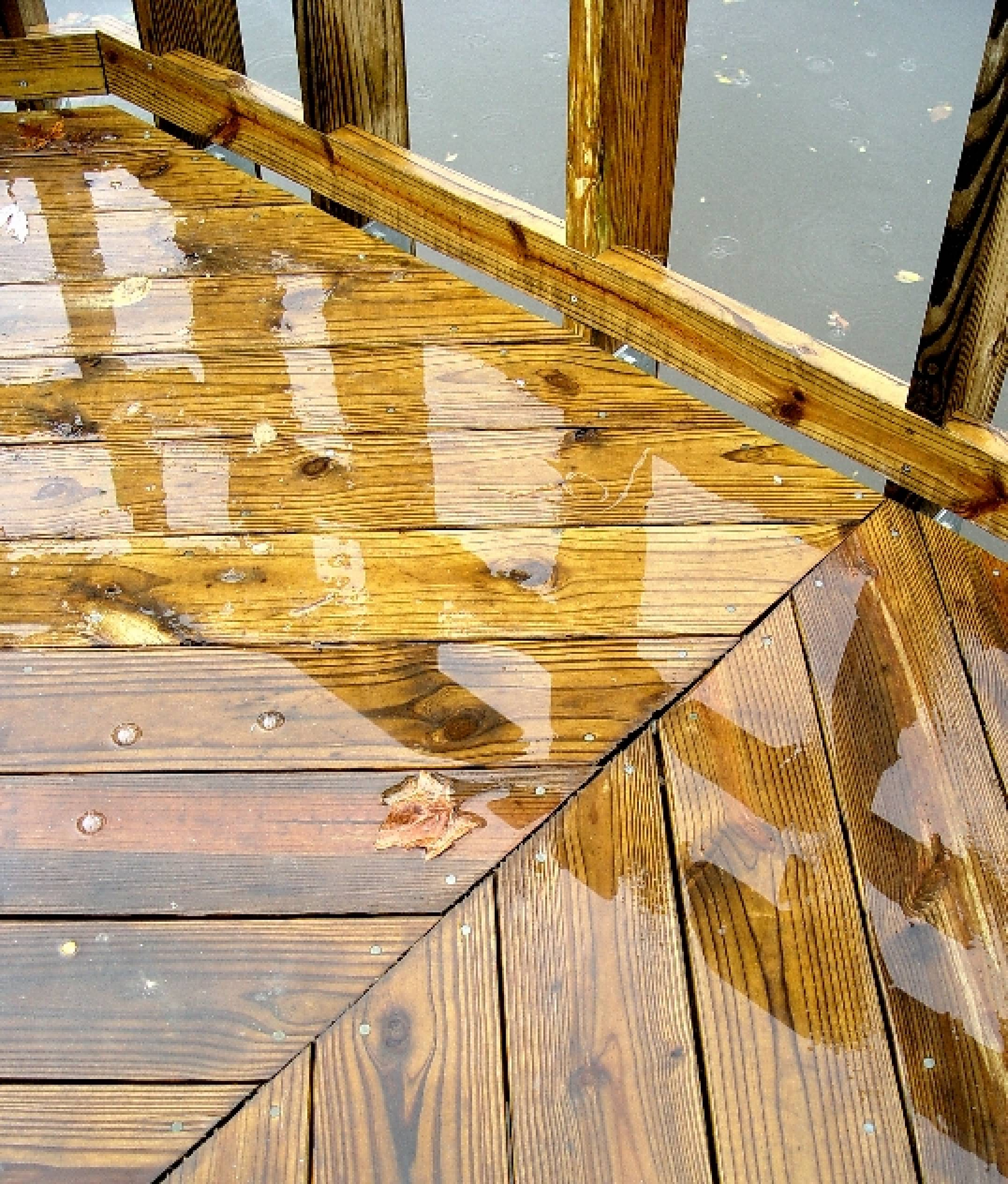 Decking Oil Problems