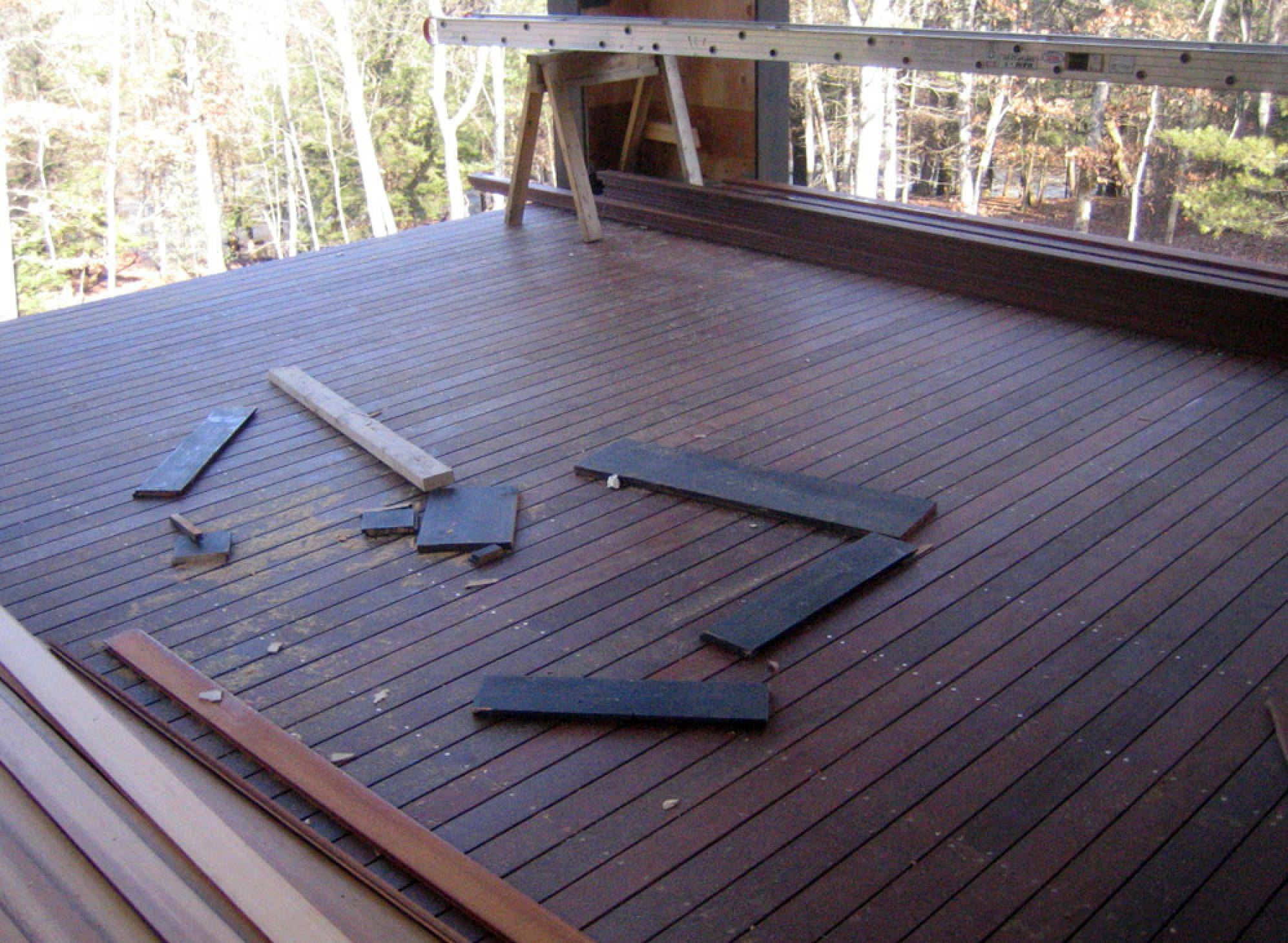 ipe decking installation