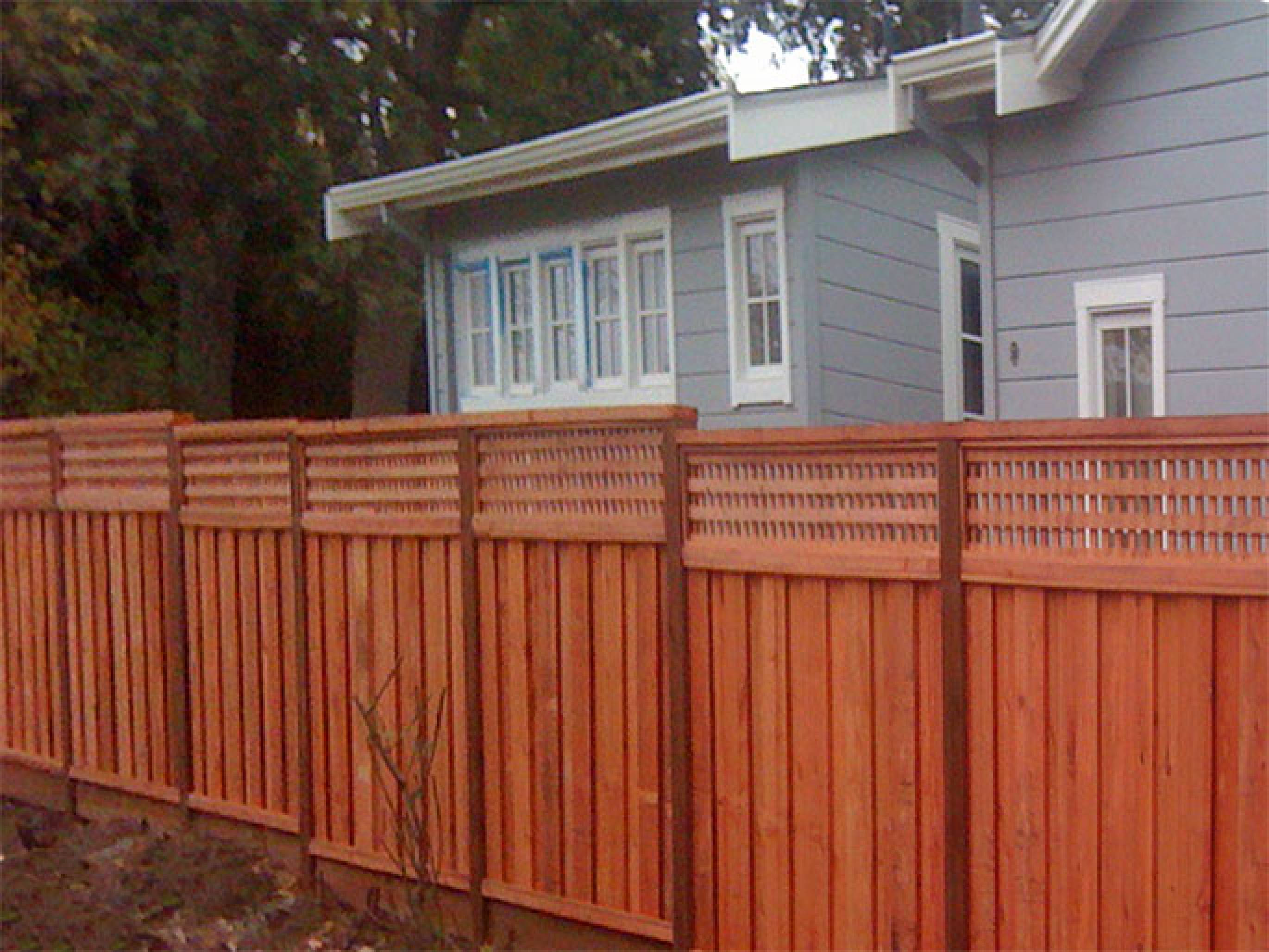IPE Wood Fence Boards